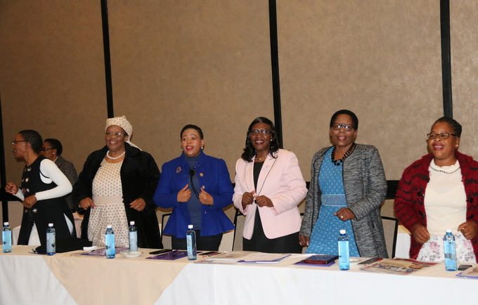 Lesotho Women Parliamentary Caucus Commit to Address GBV/SRHR Issues