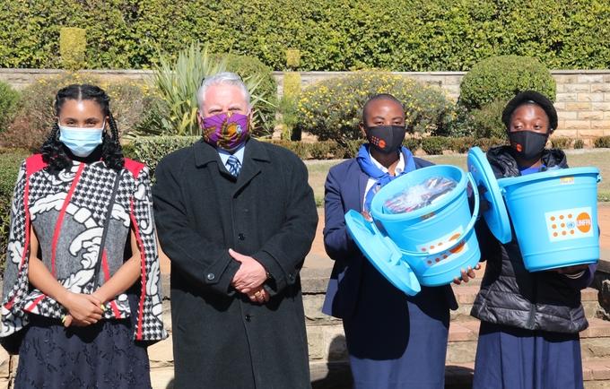UNFPA Hands Over Dignity Kits to Princess Senate