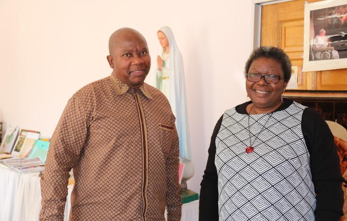 UNFPA Representative and Archbishop discuss maternal deaths