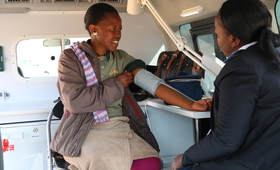 Mobile Clinic Brings SRH Services to Factory Workers