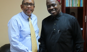 Dr Chima and Prince Seeiso