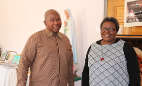 UNFPA Representative and Archbishop discuss maternal deaths