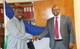 Dr Chima Meets Lesotho Health Minister